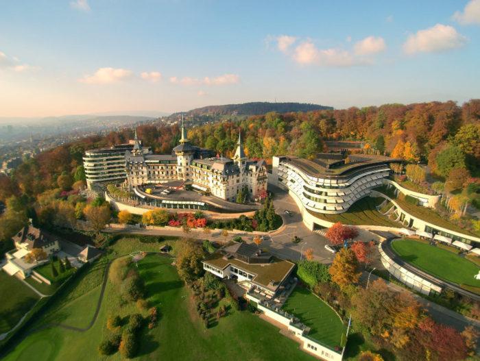 Dolder Grand Luxury Hotel in Zürich