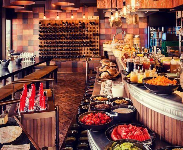 modissa bar buffet
